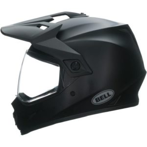 Endurohelm Bell MX-9 Adventure Solid MIPS Schwarz Matt