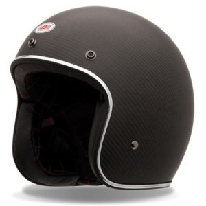 Jet Helm Bell Custom 500 Carbon Matt