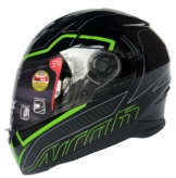 Airoh Motorradhelm Movement S-Faster Grün Helm Integral
