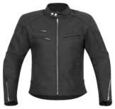 Klassik Lederjacke hochwertige Chopper Motorradjacke schwarz matt