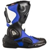 """XLS Motorradstiefel """"Race Gear"""" Racing Boots Blau"""