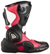 """XLS Motorradstiefel """"Race Gear"""" / Racing Boots in Rot"""