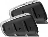 Cardo Scala Rider Smarth Kommunikationssystem Doppelset   - Schwarz - one size
