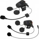 Sena SMH5 Bluetooth Kommunikationssystem Doppelpack   - Schwarz - one size